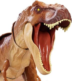 Jurassic World Dinosaurio T-rex Gigante Sonido Mattel