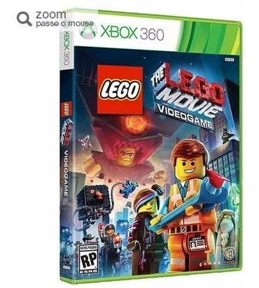 Game The Lego Movie Br - X360