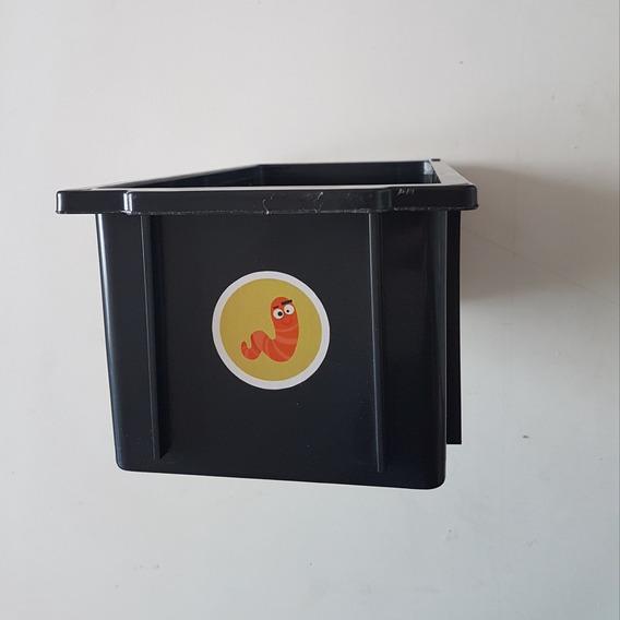 Caixa Digestora Mini Composteira - Caixa Plástica 4 Litros