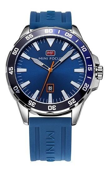 Reloj Calendario Mini Focus Mf020 Saa,s - Original
