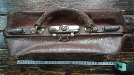 Antiguo Maletin Médico De Coleccion Vintage