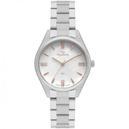 Relógio Technos Elegance Feminino Prata 2036mkr/1b