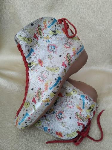Zapatos/botines Artesanales Comisc  Dama