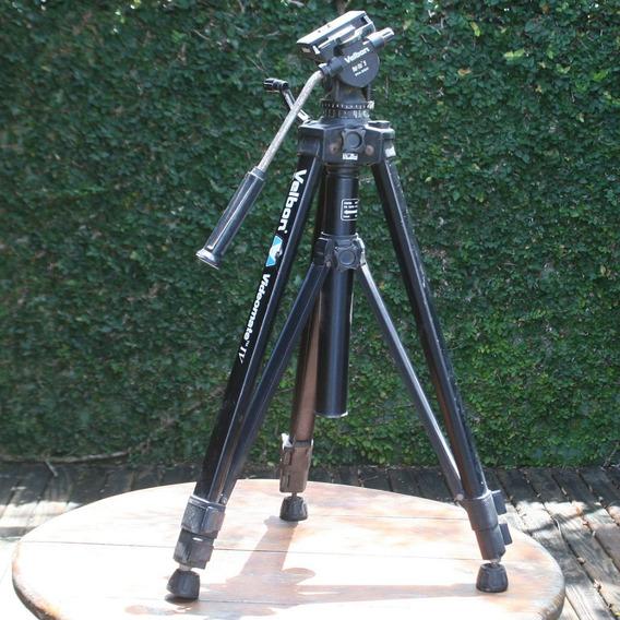Tripé Para Vídeo Com Cabeça Hidráulica - Velbon Ph-368