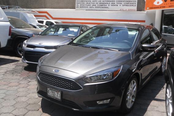 Ford Focus 2016 Automatico Clima Piel Rines Camara Tras. Q/c