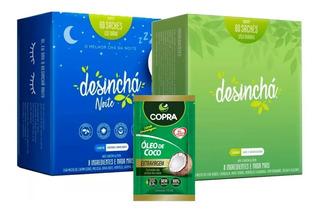 Kit Desinchá Dia + Desinchá Noite - Pronta Entrega + Brinde