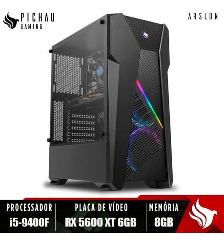 Pc Gamer Pichau Arslon, I5-9400f, Rx 5600 Xt 6gb, 8gb, Hd1tb
