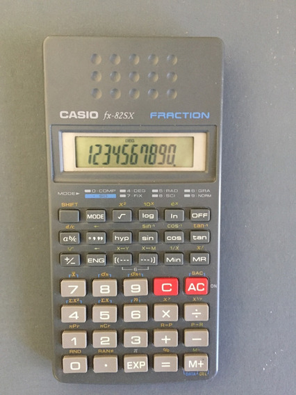 Calculadora Científica Casio Cassio Fx-82sx