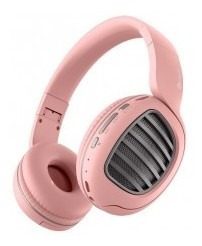 Diadema Getttech Joy Rosa Gdj-33201p Bt/tf/fm/aux 250mah Rev