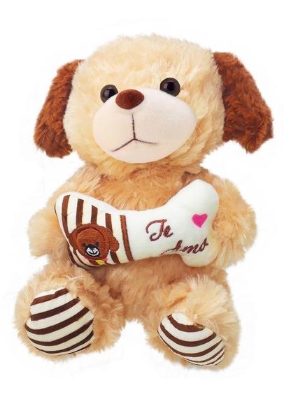 Cachorrinho De Pelúcia Te Amo Ursinho - Várias Cores