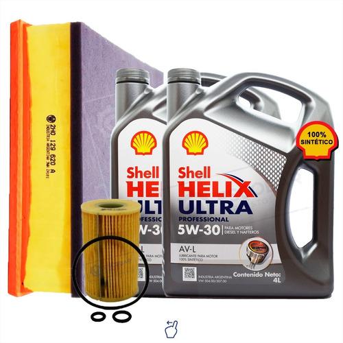 Imagen 1 de 10 de Kit 2 Filtros Vw Amarok + Aceite Shell 5w30 8 Lts Desde 2018