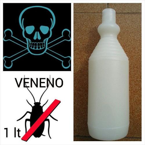 Líquido Mata Cucarachas Y Chiripas 100% Efectivo