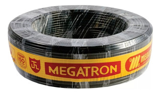 Cabo Flexivel 750v 4,00mm 15m Pr Megatron