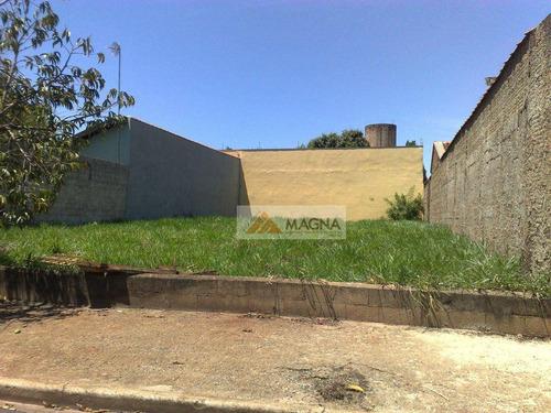 Imagem 1 de 1 de Terreno  Residencial À Venda, Parque Residencial Cândido Portinari, Ribeirão Preto. - Te0102
