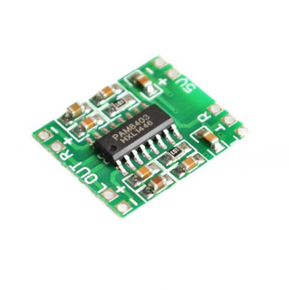 Mini Amplificador Clase D 3w X 2 , Voltaje 2.4-5v Arduino