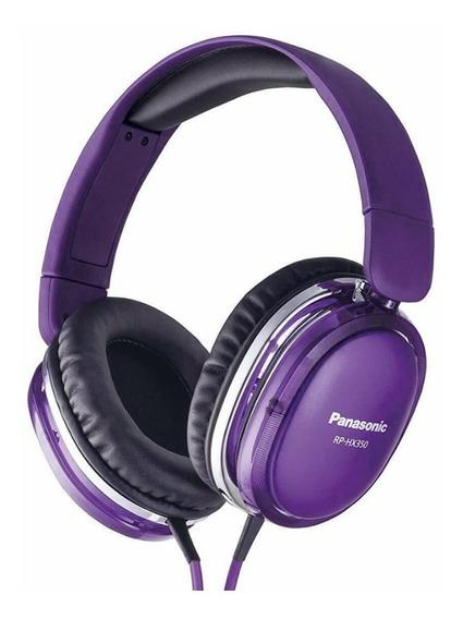 Fone De Ouvido Panasonic Rp-hx550-p Purple