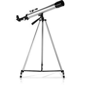 Telescópio Astronômico Telescópio Com Tripé Estrelas Ceu