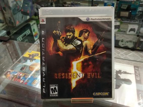 Resident Evil 5 Usado Ps3 Mídia Física