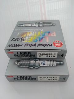 Bujia Ngk Spark Plug bkr6ekpb-11 Paquete De 6-Laser Platinum Bujía Ngk 3452