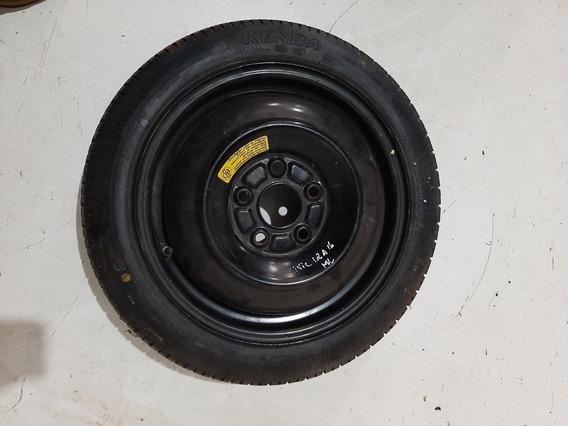 Roda Ferro Estepe Fino Honda Civic Aro 16
