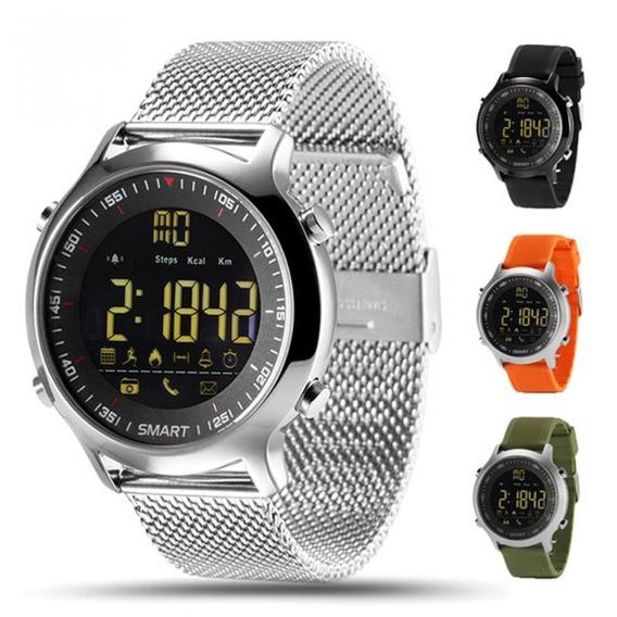 Reloj Inteligente Ex18 Ip67, A Prueba De Agua, Alerta De Sms