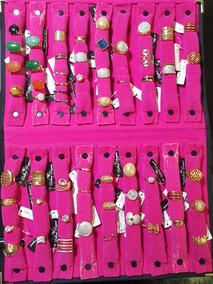 Anéis Banhados À Ouro 18k - 10 Milésimos - Lote 56 Peças