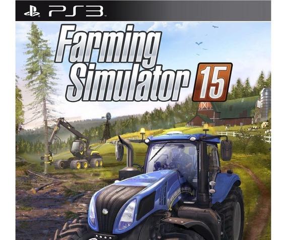 Jogo Farming Simulator 2015 Ps3 Psn Farming 15 Play Promoção