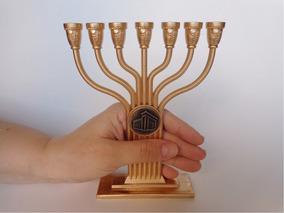 Candelabro Castiçal Menorah Templo De Salomão