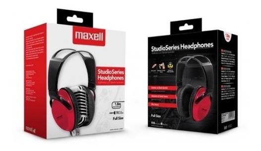 Audifono Maxell Studio La Full Size Hp St-2000 Nuevo