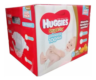Pañales Huggies Snug & Dry Etapa 1 ( P ) Caja De 168 Pañales