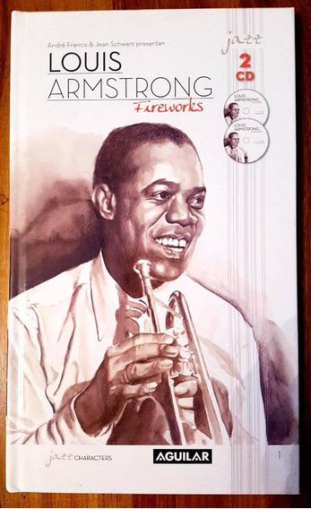 Louis Armstrong Fireworks 2 Cd + Libro Edición De Lujo