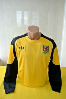 Camisa País De Gales Umbro 2010