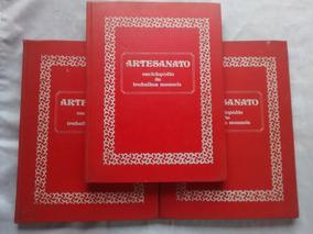 Artesanato Enciclopédia De Trabalhos Manuais 3 Volumes