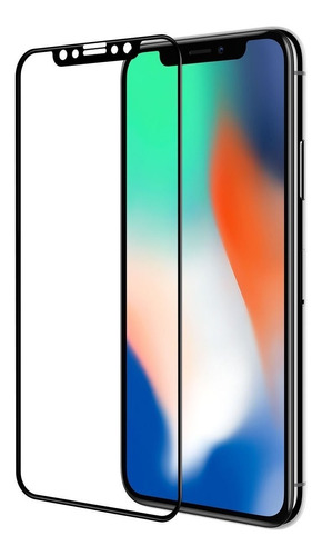 Protector Vidrio Templado Para iPhone XS X 10 3d - Colocado®