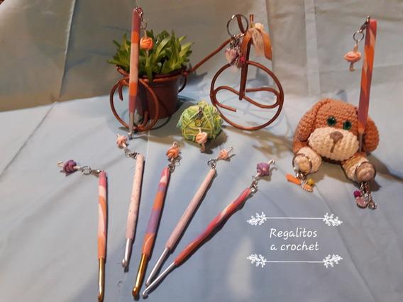 Agujas De Crochet Decoradas Y Personalizadas Con Marcapuntos