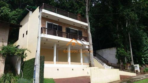 Casa Com 3 Dormitórios À Venda, 121 M² Por R$ 650.000,00 - Martim De Sá - Caraguatatuba/sp - Ca0180