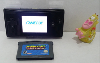Consola Game Boy Micro + Mario Kart Super Circuit