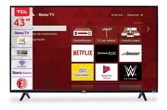 Smart Tv 43 Pulg Tcl