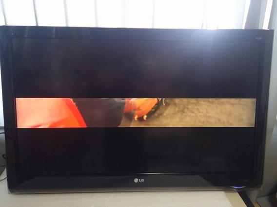 Tv Lg 42lh40ed Impecavel,s/base