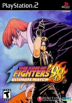 The King Of Fighters 98 U.m Jogos Ps2 Barato + Brinde Play 2