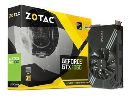Placa De Video Zotac Geforce Gtx 1060 3gb Ddr5 192bits