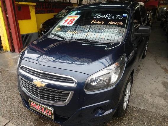 Chevrolet Spin 1.8 Ls Flex Ano 2018 Completo Unico Dono