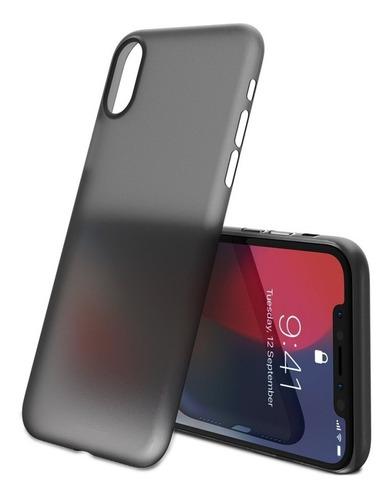 Protector Semi Transparente Ultra Delgado Fino iPhone X 10 ®