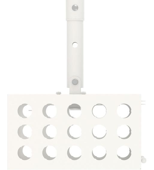 Suporte De Teto Para Projetor Multi-gaiola Branco Multivisão