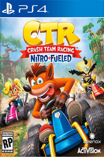 Ps4 Crash Team Racing Nitro-fueled Original Fisico Nuevo Sel