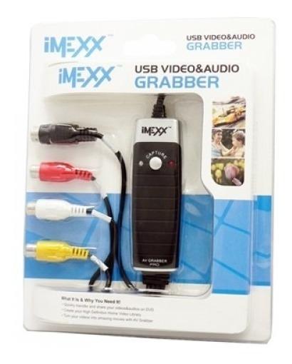 Capturadora De Video Y Audio Usb 2.0 Imexx