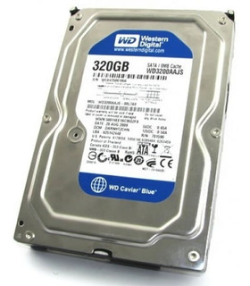 Disco Rigido Western Digital Blue 320gb Pc 72000rpm Envios