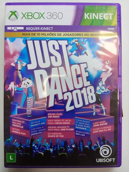 Just Dance 2018 Xbox 360 Original Em Midia Fisica