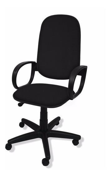 Cadeira Presidente Flex Giratória C/ Braço Orelha - Nova