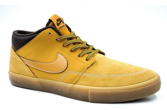Nike Sb Pormore Ii Slr M Bota Marron Claro Hombre Aj6978779